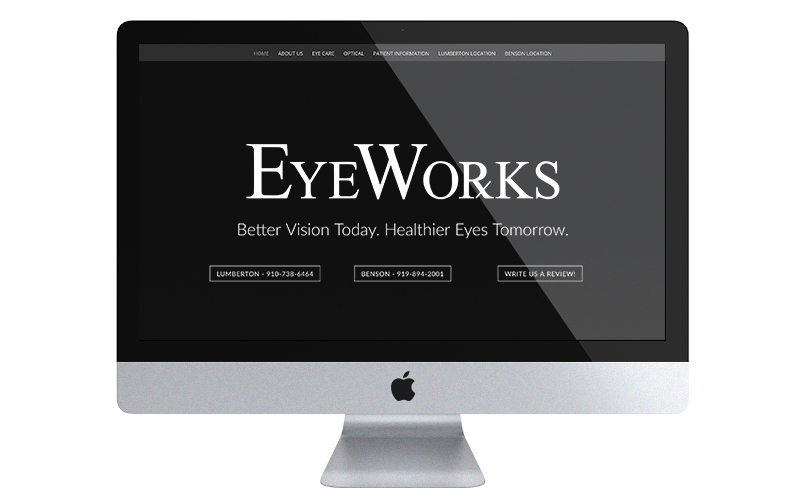 Eye works desk