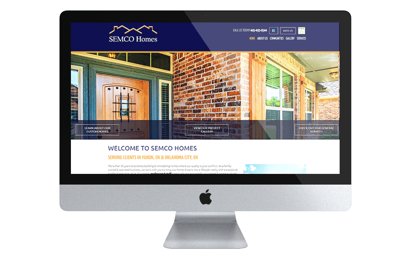 Semco homes desktop