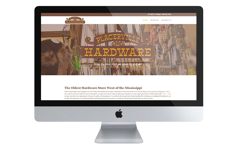 Placerville hardware desktop